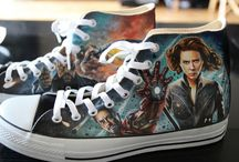 Converse Shoes / Thor Custom Converses