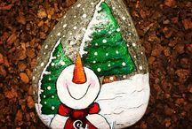 Χριστουγεννιάτικες πέτρες!!!!!!