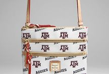 Dooney & Bourke- Aggie Style! / This Dooney and Bourke collection is exclusively for every Aggie enthusiast! Show your Aggie pride with this classy collection!