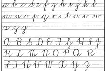 Learning cursive