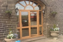 Residential Doors / Our extensive choice of entrance door systems is designed to enhance any home and offer high levels of security. Built using the same versatile profile systems as our windows, these high-performance doors perfectly complement our full window range, giving you an exact color match across all products.