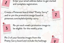 """Pretty Savvy / Enter the """"Pretty Savvy"""" Sweepstakes for a chance to win $1,000. Visit the site to find out how http://rtm.cc/1OIr6"""