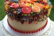 Dorty potahované  (cakes with fondant) / Inspirace