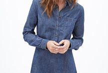 Vestido jeans / Vestido jeans