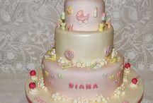 Torte Battesimo / Torte decorate per il Battesimo a Milano, Pasticceria Cake Design a Raffinata www.laraffinata.com