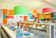 School cafeteria / Design of school cafeteria for elementary  school