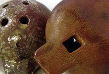 Ceramic music instruments