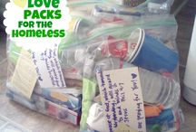 Homeless gift bags / by Loretta Campbell