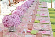 Pink Ribbon Table Decoration Ideas and Menu