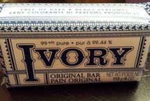 Many uses for ivory bar soap / by Jamie Coppernall
