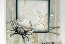 By the Seashore Stampin' Up! Stamp Set Greeting Cards