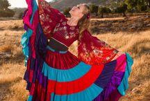 Le Danze #Gitane di Victoria: #Gypsy / Danziamo nel vento, nel sole e celebriamo la vita! Con ritmo ed energia!