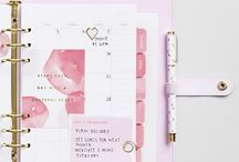 cute girly stationary