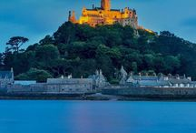 Twilight over St Michael's Mount in Mounts Bay, Cornwell United Kingdom…. Discover UK in one day family  trips…. http://ift.tt/2a4Y7ig