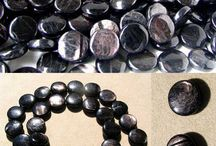 Stone Beads > Hypersthene Beads / Natural Hypersthene Beads in a variety of shapes, sizes and styles.