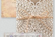 trouwkaarten/ wedding  invitations / wednesdayweddings.nl