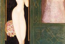 Surrealists / Surrealists - Dorothea Tanning, Leonor Fini, Remedios Varo, Leonora Carrington, Max Ernst & Salvador Dali