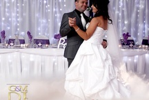 Dancing on a Cloud / Dancing on the cloud with our low fog effect. Something magical for your first dance.