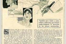 Intea Vintage / Publicidad de nuestra marca Intea Cosmetics, a través del tiempo. Desde un lejano 1.925 !!