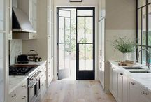 philda kitchen leading to outside ideas