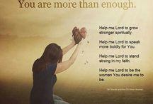 Prayer  / Favorite prayers, include in prayer, the importance of prayer, etc.
