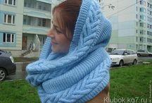 шарфы, снуды, палантины, шали