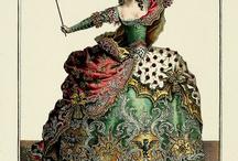 fairytale-opera costumes/dresses