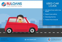 Used Car Loan - Ruloans / At RuLoans.com, Get Best deals on Used Car Loan with expert Loan advice on Second-hand Car Loan. Compare Online & get instant approval in less than 2 Minutes! For more information visit - https://www.ruloans.com/used-car-loans/used-car-purchase