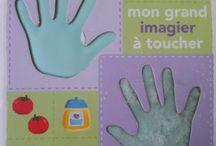 Imagiers / Imagiers de toutes sortes, sur les animaux, le monde de bébé, la terre, en français, en Anglais, en Espagnol...