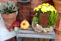 Herbst deko / Haustür Herbst Deko