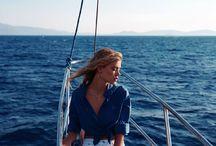 summer & boat