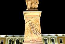 Πλατεία Σολωμού τη νύχτα, Ζάκυνθος / Solomos Square at night, Zakynthos
