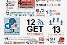 Creativity => infographics