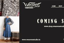 http://www.shop.weaversstudio.in/ / Online shop for Indian Textiles- Home Products (Cushions, Table Mats, Quilts, Bed Covers, Coasters), Accessories (Bags, Stoles, Scarves), Garments (Tunics, Kurtas and Kurta Sets) and Sarees