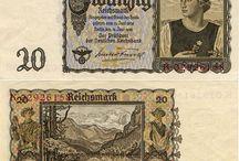 Druhá světová válka měna krabičky a jiné
