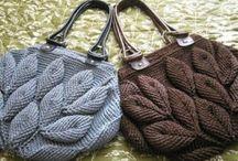 Yarn bag πλεκτη τσαντα