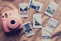 Polaroid camera/ pictures