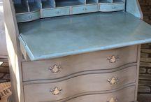 Muebles pintura tiza