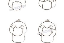 draw шаг. покемоны