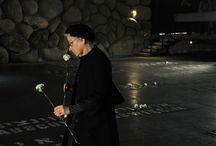 Моменты памяти / День памяти жертв Холокоста (Шоа) и героев сопротивления в фоторепортажах из Мемориального комплекса Яд Вашем