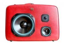 Vintage Suitcase Stereos
