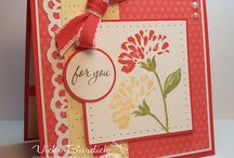 cards - flowers / by Gayla O'Dell