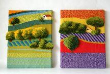 Cornelia sheep weaving / Weaving handmade in spain