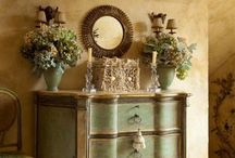 painted furniture / by Barbara Boxell