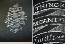 Hand lettering / Typography, Design, Hand-Lettering