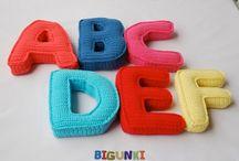 letras tejidas