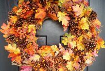 jesień wianki