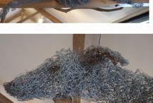 Wire sculrture