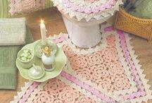 juego de baño crochet
