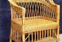 Плетеная мебель своими руками: